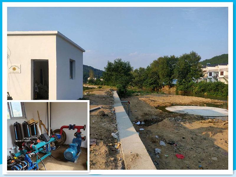 泵站及设备安装